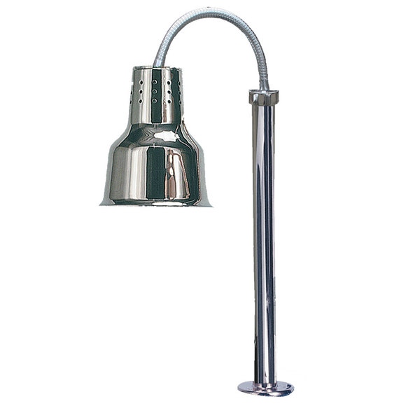 Hanson Heat Lamps SL/FM/ST/600/SS Stainless Steel Flexible Streamline Single Bulb Heat Lamp
