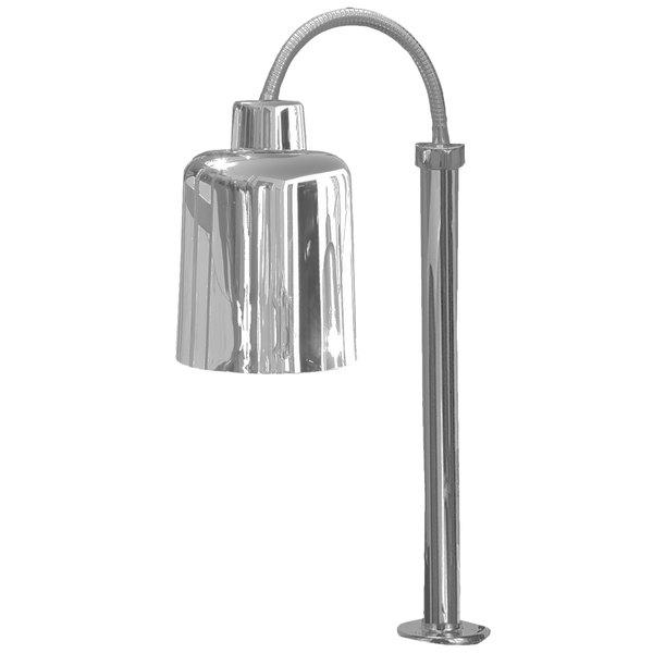 Hanson Heat Lamps SL/FM/ST/700/SS Stainless Steel Flexible Streamline Single Bulb Heat Lamp Main Image 1