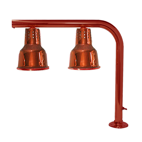 Hanson Heat Lamps FLD/FM/SC Dual Bulb Heat Lamp with Smoked Copper Finish Main Image 1