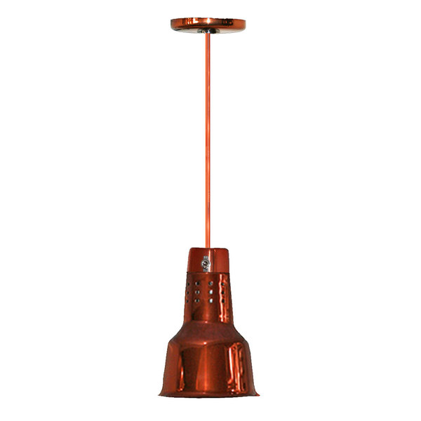 Hanson Heat Lamps 600-SMT-SC Rigid Ceiling Mount Heat Lamp with Smoked Copper Finish