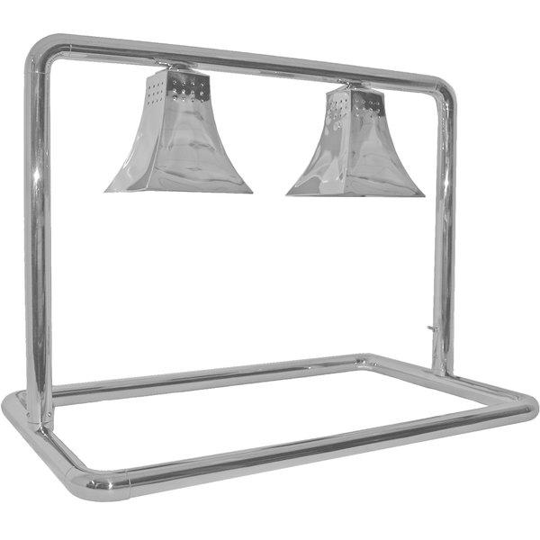Hanson Heat Lamps MGM/500/CUSTOM Two Bulb Mounted Food Warmer with Royal Shades Main Image 1