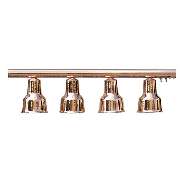hanson heat lamps 4 lb 61 four bulb hanging bar food warmer. Black Bedroom Furniture Sets. Home Design Ideas