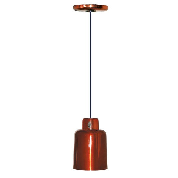 Hanson Heat Lamps 700-C-SC Ceiling Mount Heat Lamp with Smoked Copper Finish