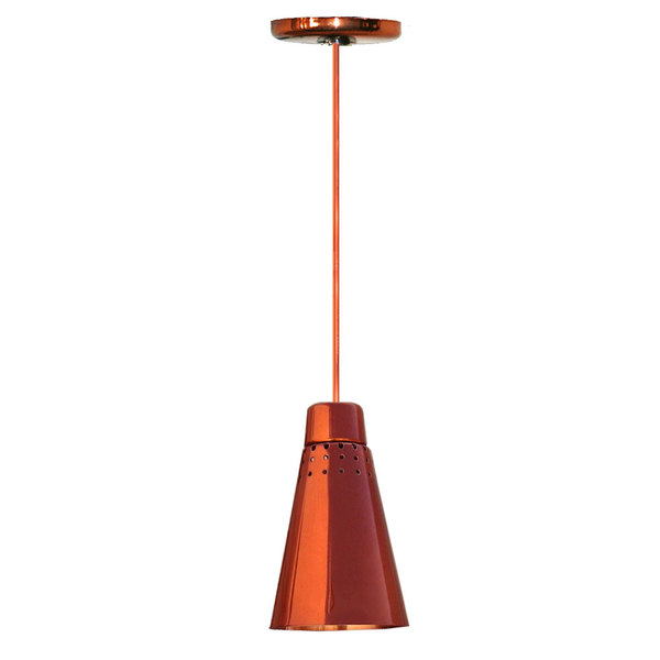 Hanson Heat Lamps 900-SMT-SC Rigid Ceiling Mount Heat Lamp with Smoked Copper Finish