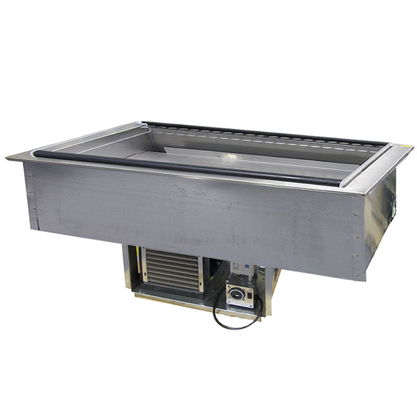 Delfield N8157-FA Four Pan Drop In Forced Air Refrigerated Cold Food Well Main Image 1