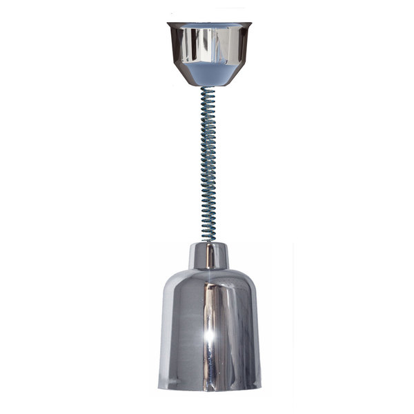 Hanson Heat Lamps 700-RET-CH Retractable Cord Ceiling Mount Heat Lamp with Chrome Finish
