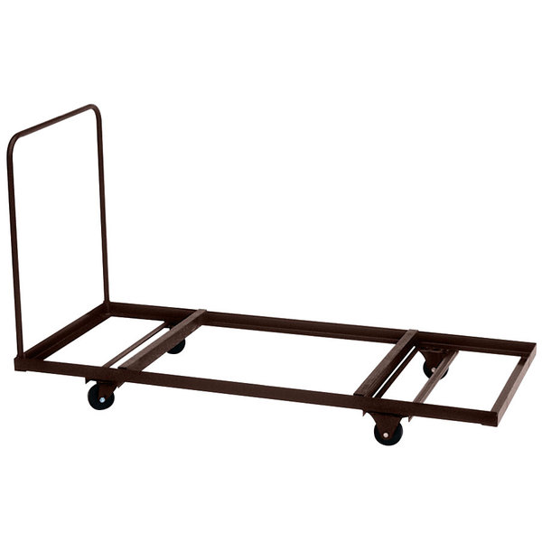 """Correll T3096 30"""" x 90"""" Flat Stacking Table Truck Main Image 1"""