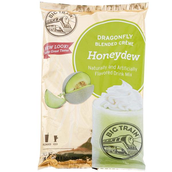 Big Train 3 5 lb  Dragonfly Honeydew Blended Creme Frappe Mix
