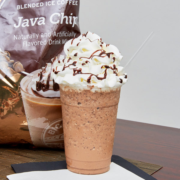 Big Train 3 5 lb  Java Chip Blended Ice Coffee Mix
