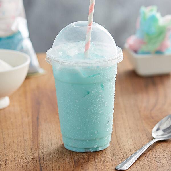 Big Train 3.5 lb. Cotton Candy Kidz Kreamz Blended Creme Frappe Mix Main Image 2