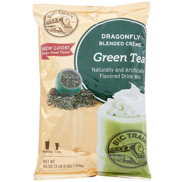 Big Train 3 5 lb  Dragonfly Green Tea Blended Creme Frappe Mix