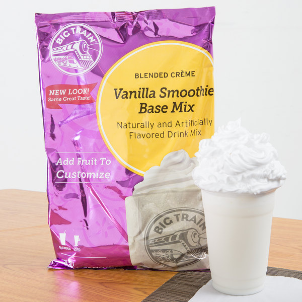 Big Train 3.5 lb. Vanilla Smoothie Mix
