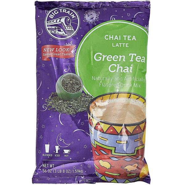 Big Train 3.5 lb. Green Tea Chai Tea Latte Mix Main Image 1