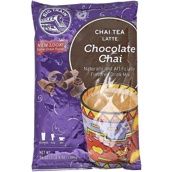 Big Train 3.5 lb. Chocolate Chai Tea Latte Mix Main Image 1