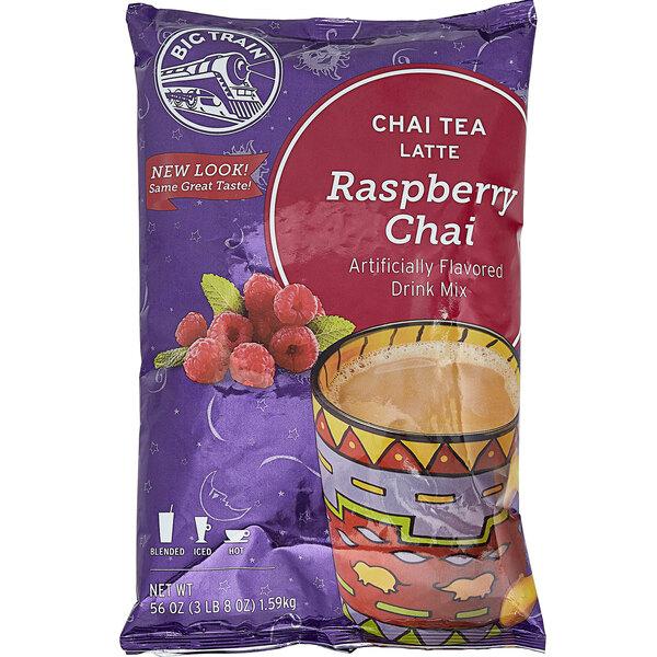 Big Train 3.5 lb. Raspberry Chai Tea Latte Mix Main Image 1