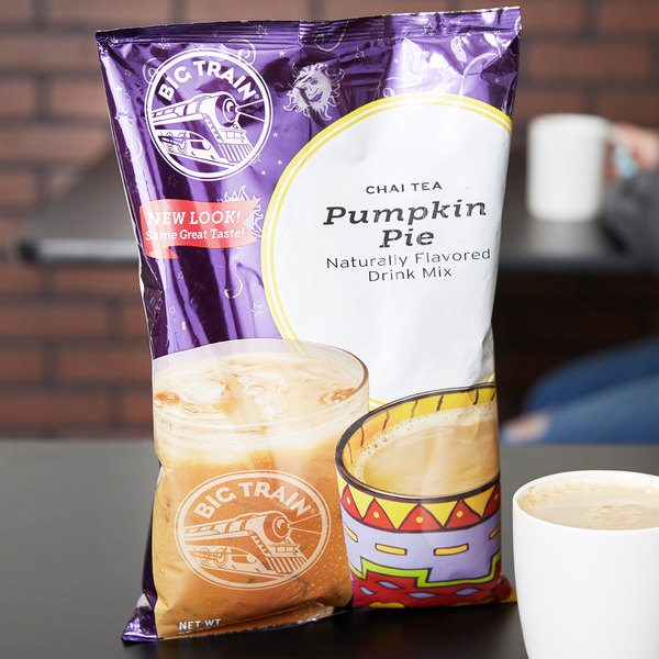 Big Train 3.5 lb. Pumpkin Pie Chai Tea Latte Mix