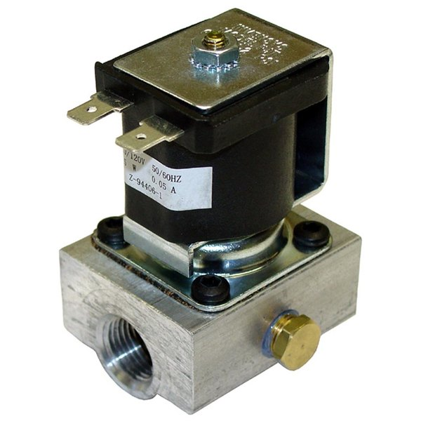 "Savory 25008SP Equivalent Gas Solenoid Valve; 3/8"" FPT; 120V"
