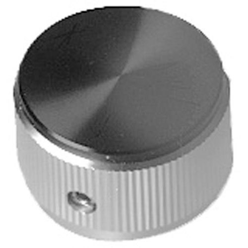 """All Points 22-1579 1"""" Aluminum and Black Oven Indicator Knob"""