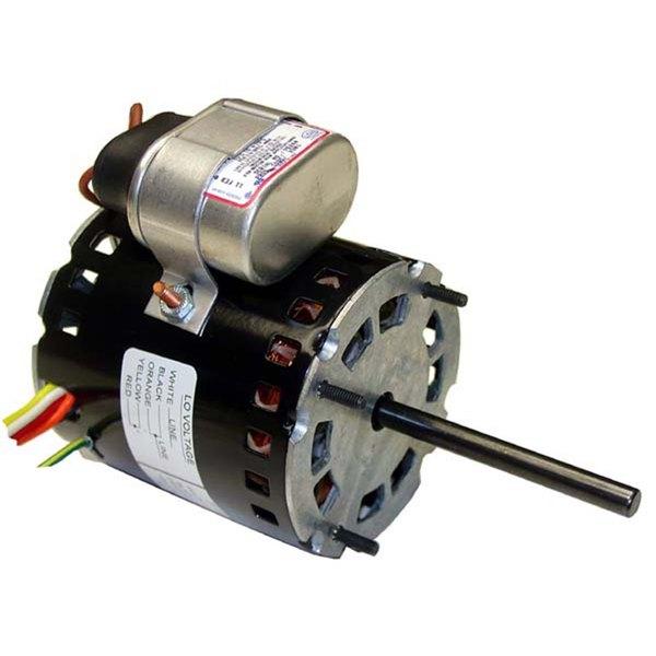 Carter-Hoffmann 18614-0360 Equivalent 1/30 hp Fan Motor; 115/230V; 3350/2700RPM Main Image 1