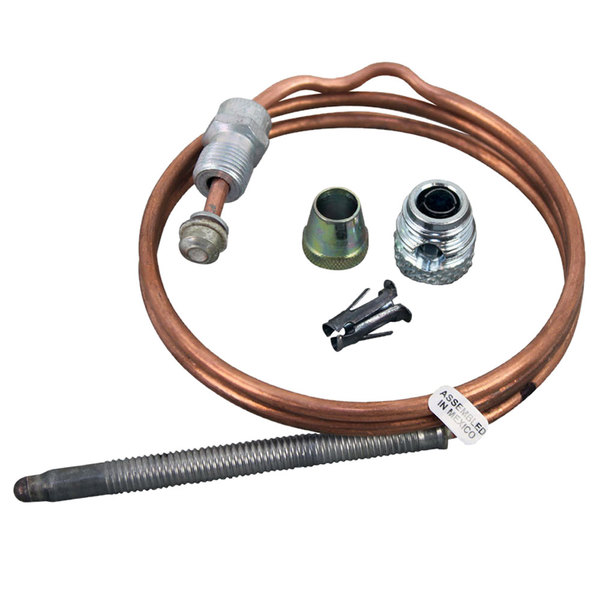 """All Points 51-1112 Coaxial Thermocouple; 24""""; 11/32""""-32 Thread"""