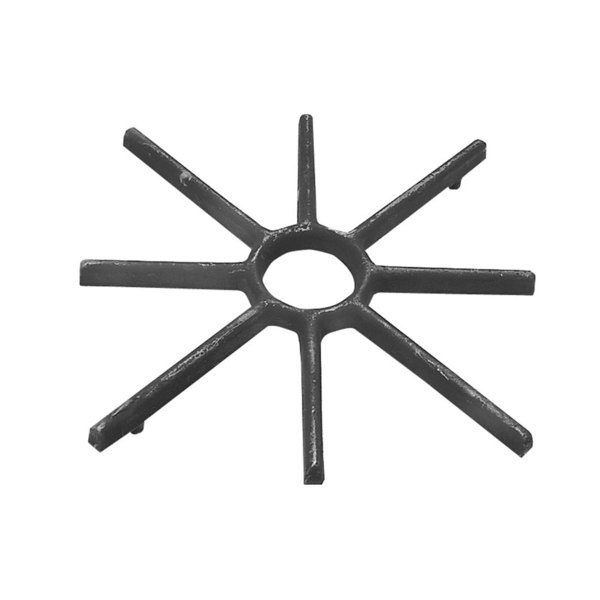"""All Points 24-1129 3 1/8"""" Cast Iron Spider Grate"""