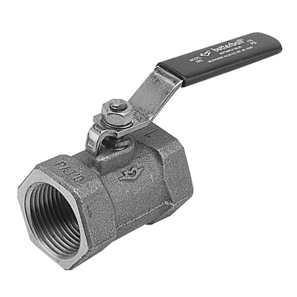 """All Points 56-1204 1"""" FPT Steam Inlet Butterfly Valve"""