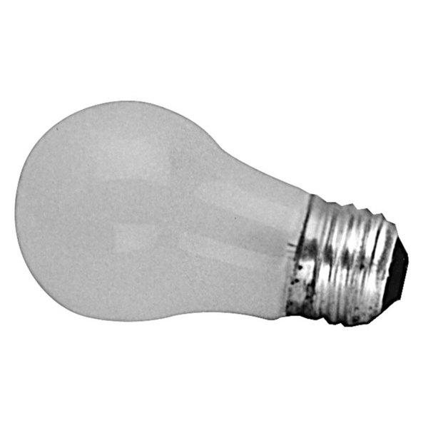 Hobart 342766-1 Equivalent 40 Watt Frosted White Appliance Light Bulb with Medium Base - 120V