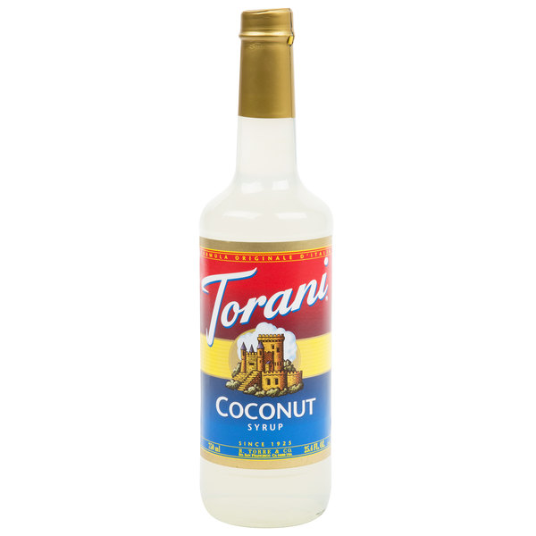 Torani 750 mL Coconut Flavoring Syrup