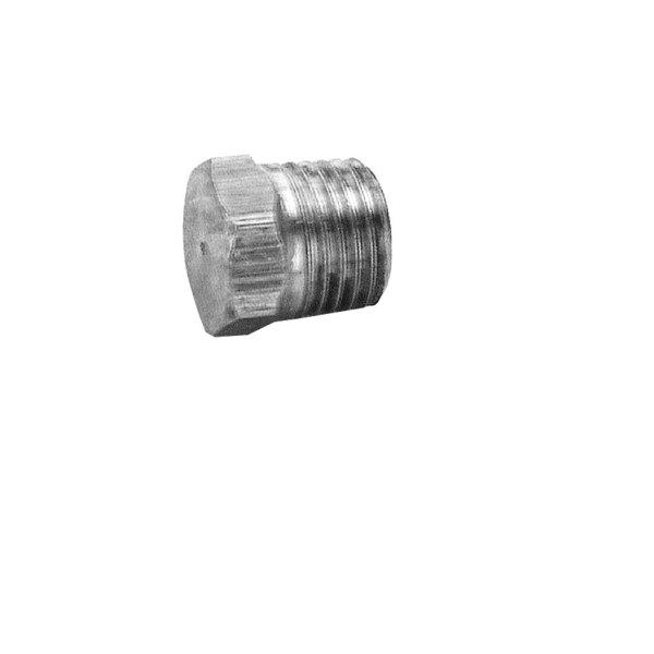 """All Points 26-1989 Brass Hex Head Plug; 1/4"""" MPT"""