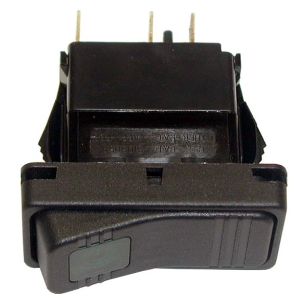 All Points 42-1413 Off/Momentary On Reset Rocker Switch - 15A/125V, 10A/250V