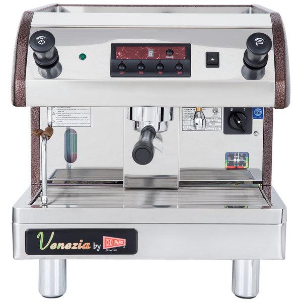 Cecilware Esp1 110v Venezia Ii One Group Espresso Machine