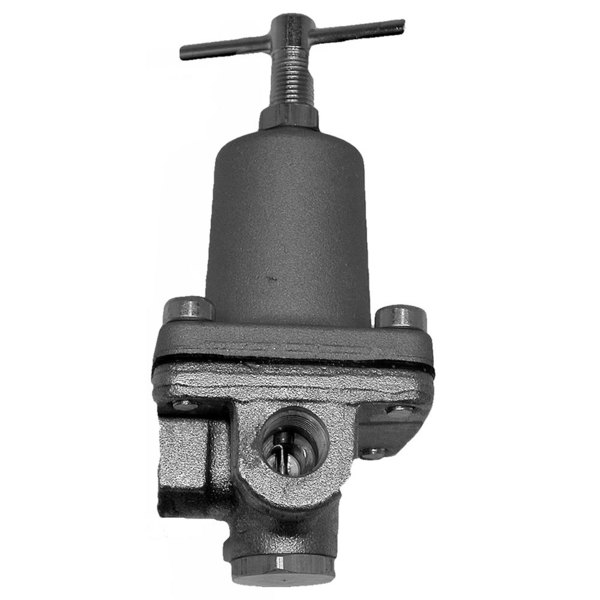 "Watts 0103197 Equivalent 3/8"" FPT Water Pressure Regulator Valve - 3 to 50 PSI Range"