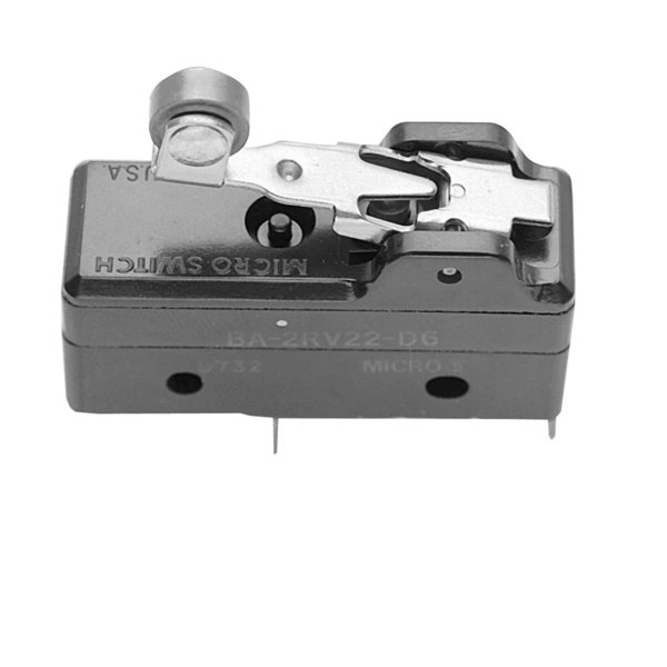 All Points 42-1251 Momentary On/Off Mini Micro Lever Roller Switch - 20A-125/250V