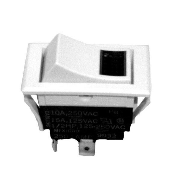 All Points 42-1196 On/Off Lighted Rocker Switch - 15A/125V, 10A/250V