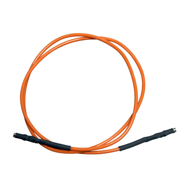 "Garland / US Range CK2200205 Equivalent Orange Wire Lead; 25""; 1/8"" Female Push-Ons"