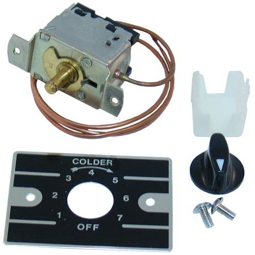 Ranco A30-3681-000 Equivalent Cold Control with Dial and Plate - 7 to 45 Degrees Fahrenheit