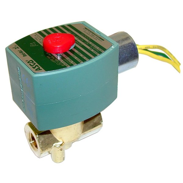 """Southbend 3S263 Equivalent Water / Steam Solenoid Valve; 1/4"""" FPT; 110/120V"""