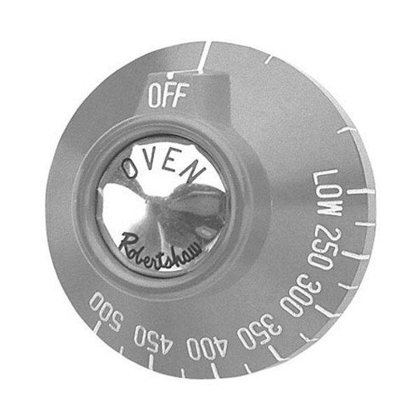 "All Points 22-1213 2 3/8"" BJ Oven Thermostat Dial (Off, Low, 250-500)"