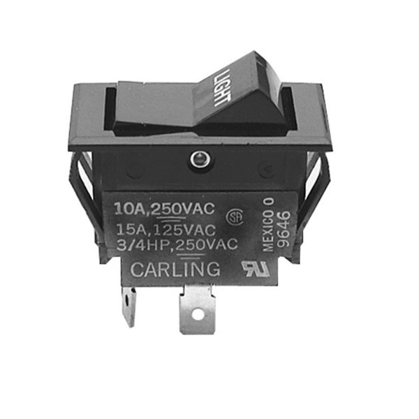 All Points 42-1310 Momentary On  Off Rocker Switch