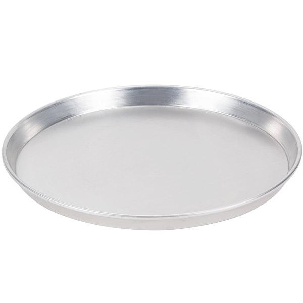 "American Metalcraft HADEP13 13"" x 1"" Heavy Weight Aluminum Tapered / Nesting Deep Dish Pizza Pan"