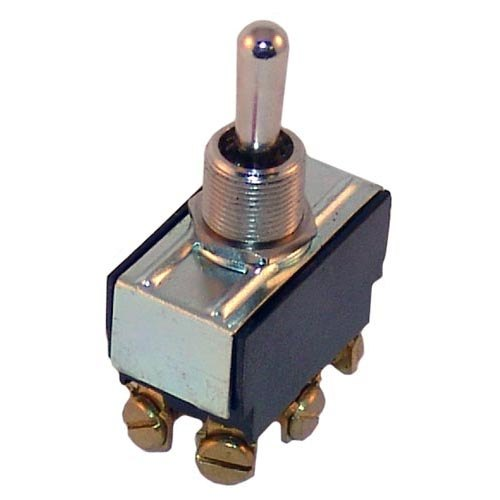 All Points 42-1649 Momentary On/Off/Momentary On Toggle Switch - 15A/125V, 10A/250V Main Image 1