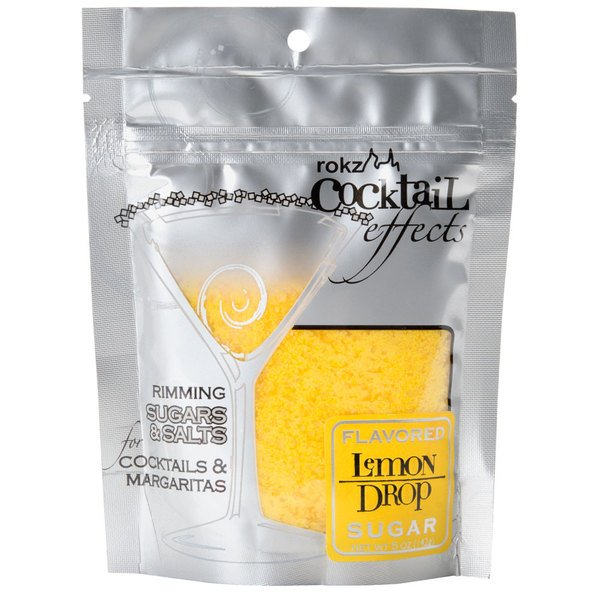 Rokz 5 oz. Lemon Cocktail Rimming Sugar