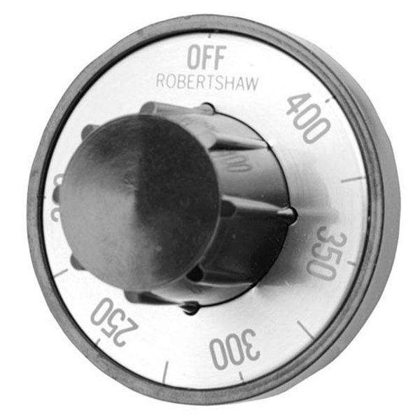 """Vulcan 108659-2  Equivalent 2"""" Fryer Thermostat Dial (Off, 200-400) Main Image 1"""