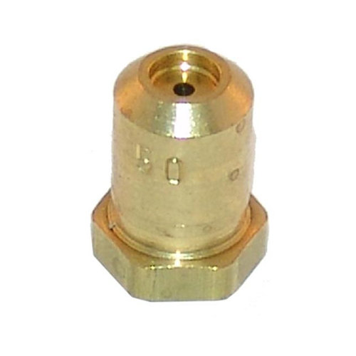 "Vulcan 719951-50 Equivalent Brass Hood Orifice; #50; Liquid Propane; 3/8""-27 Thread; 1/2"""