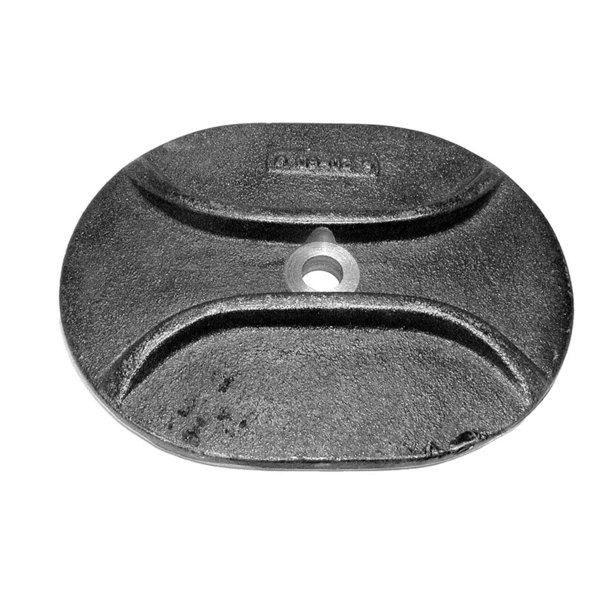 "Market Forge 90-5495 Equivalent 4 3/4"" X 6 3/4"" Boiler / Steamer Hand Hole Cover"