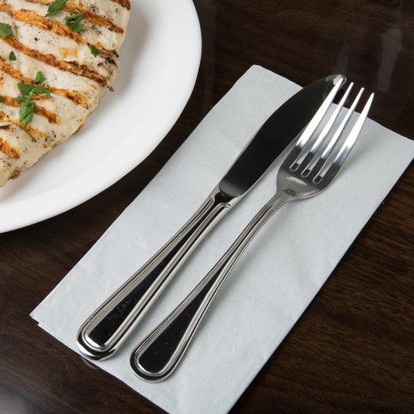 Regency Flatware Stainless Steel Dinner Fork - 12/Case