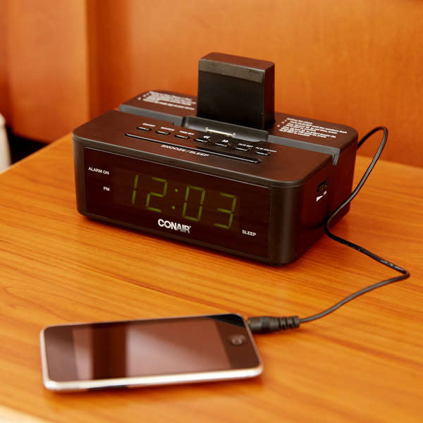 Conair CRD500 Clock Radio with iPod Compatible Dock Main Image 9
