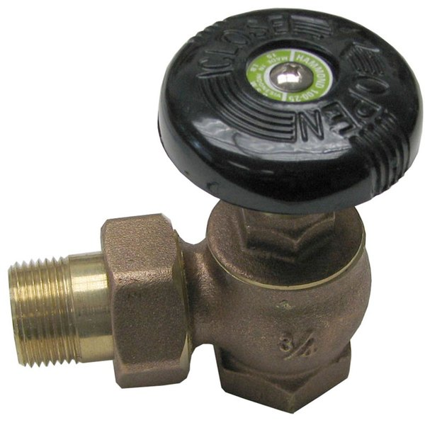 "All Points 56-1009 3/4"" x 1"" 90-Degree Steam Supply Valve"