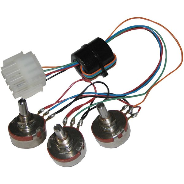 All Points 42-1566 Set of 3 Potentiometers with Wiring Harness Main Image 1