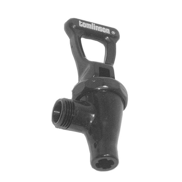 Tomlinson SPB38 Equivalent Black Large Body Faucet Main Image 1